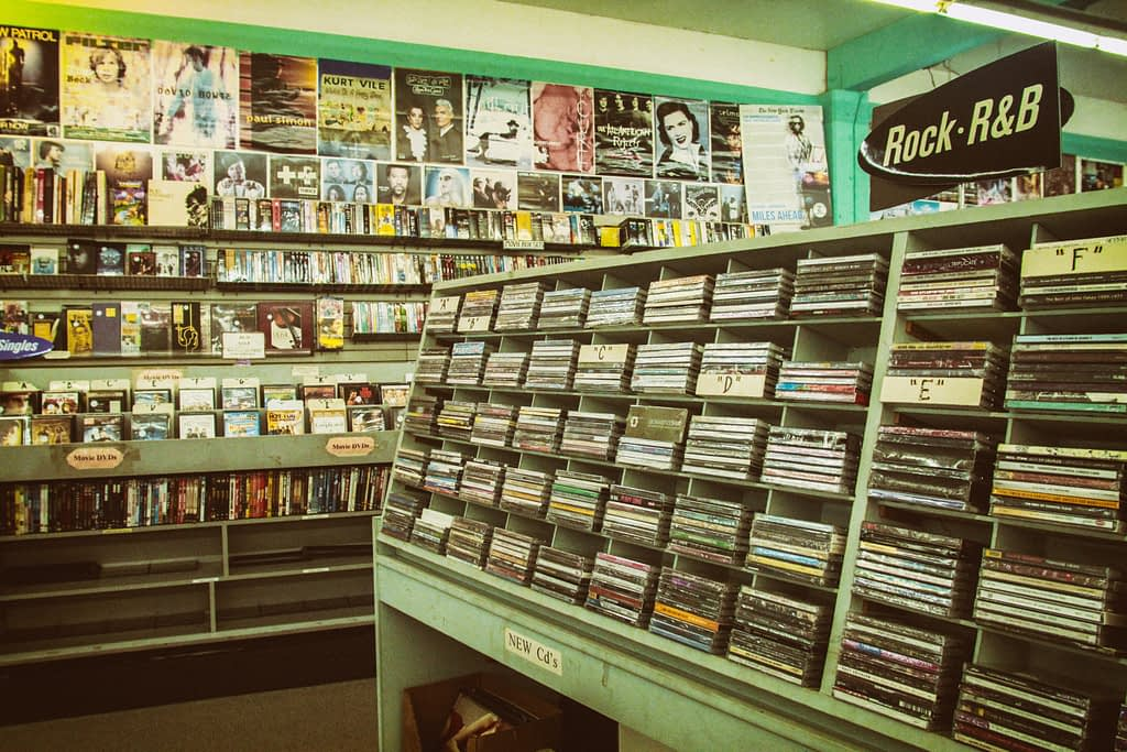 old record shop