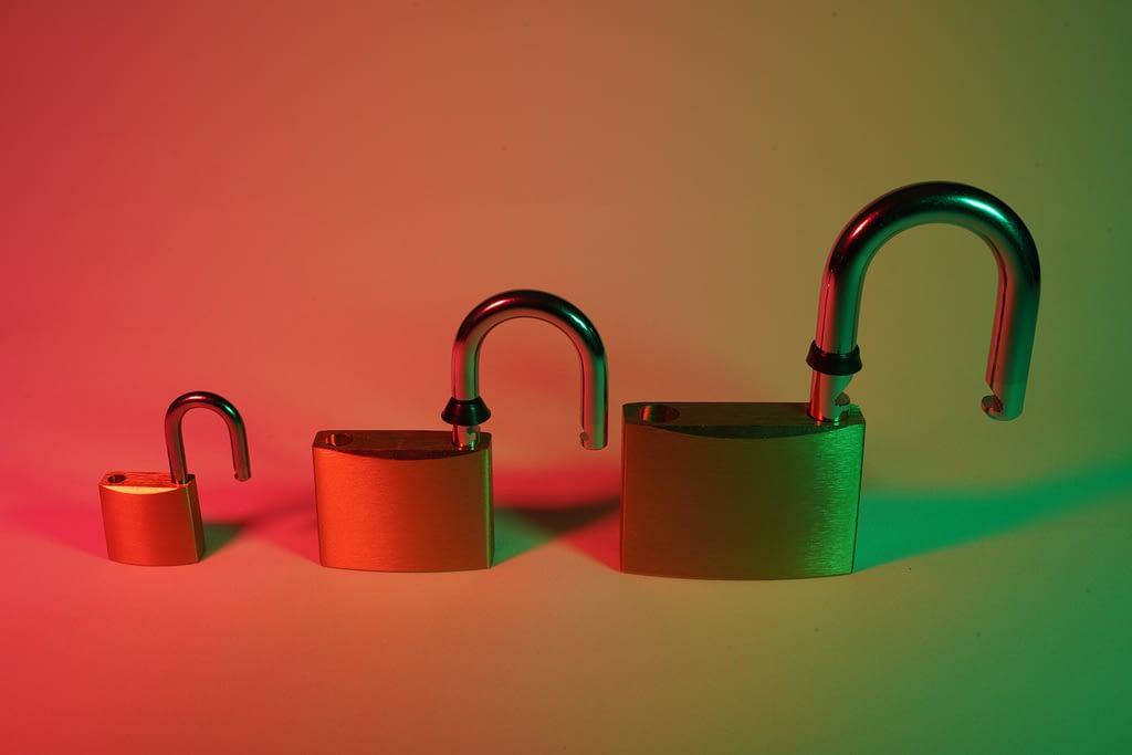 Locks evoking secure communications