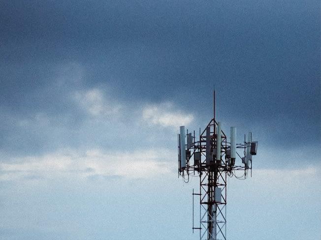 5G technology tower