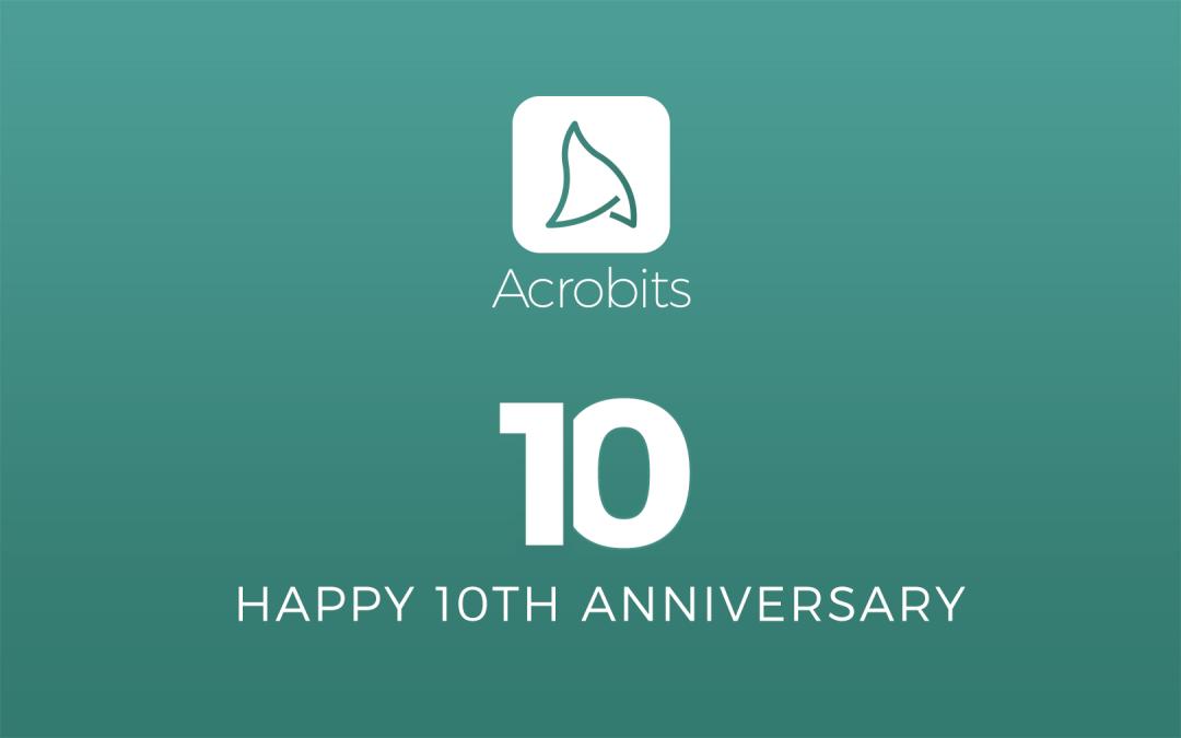 Acrobits Celebrates 10 Years Empowering Telecom Disruptors